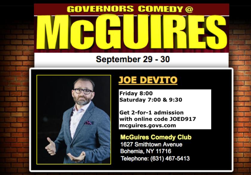 McGuire's promo